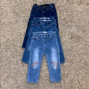 Toddler girl denim jeans